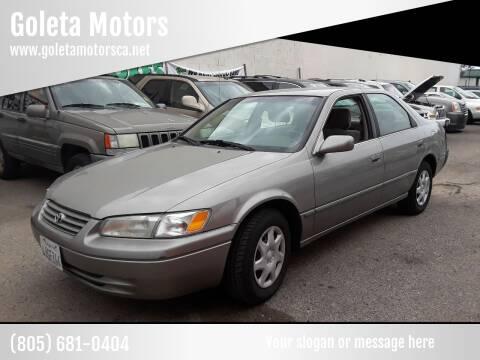 1998 Toyota Camry for sale at Goleta Motors in Goleta CA