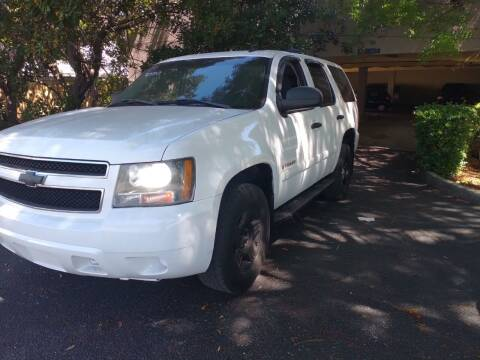 2007 Chevrolet Tahoe for sale at LAND & SEA BROKERS INC in Pompano Beach FL