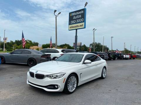 2014 BMW 4 Series for sale at Michaels Autos in Orlando FL