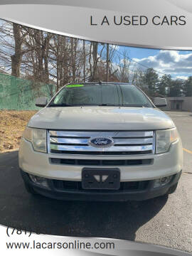 2007 Ford Edge for sale at L A Used Cars in Abington MA