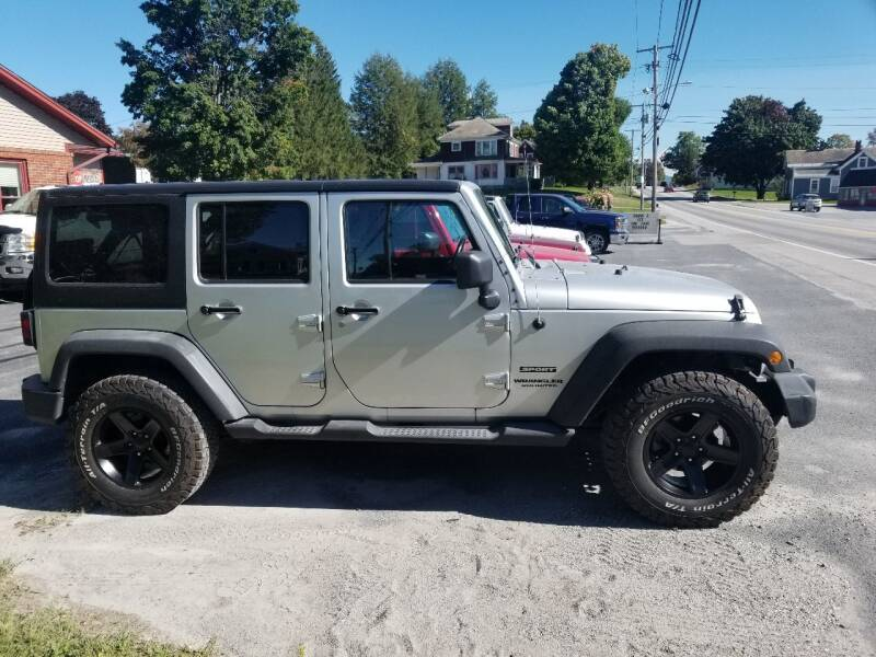 2012 Jeep Wrangler Unlimited for sale at Pittsford Automotive Center in Pittsford VT