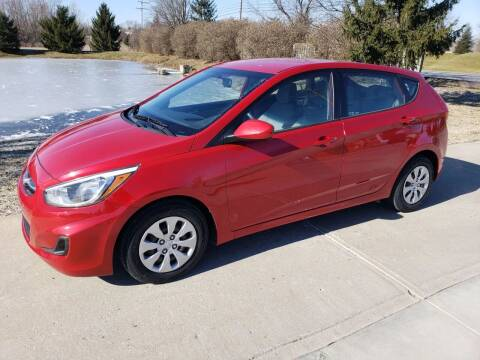2015 Hyundai Accent for sale at Exclusive Automotive in West Chester OH