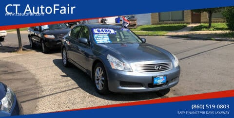 2007 Infiniti G35 for sale at CT AutoFair in West Hartford CT