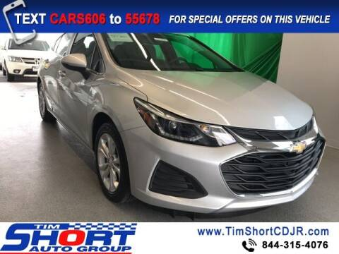 2019 Chevrolet Cruze for sale at Tim Short Chrysler in Morehead KY