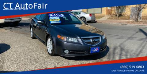 2007 Acura TL for sale at CT AutoFair in West Hartford CT