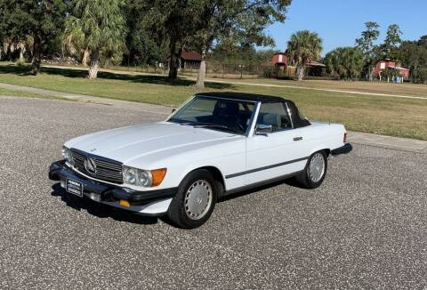 1988 Mercedes-Benz 560-Class for sale at P J'S AUTO WORLD-CLASSICS in Clearwater FL