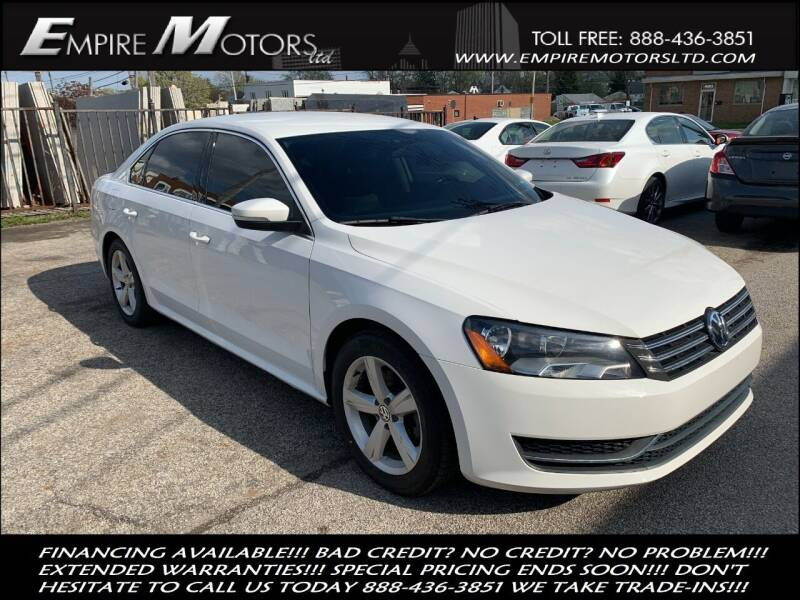 2015 Volkswagen Passat for sale at Empire Motors LTD in Cleveland OH