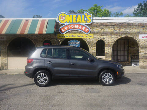 2016 Volkswagen Tiguan for sale at Oneal's Automart LLC in Slidell LA