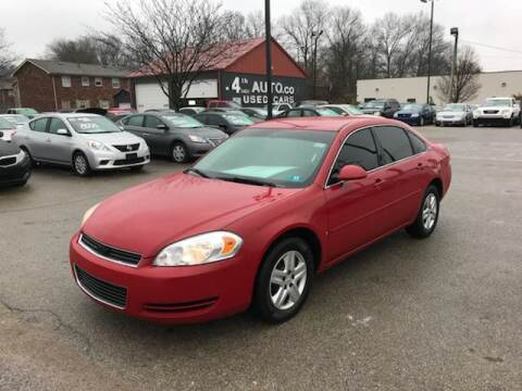 2007 Chevrolet Impala for sale at 4th Street Auto in Louisville KY