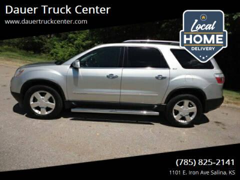 2007 GMC Acadia for sale at Dauer Truck Center in Salina KS