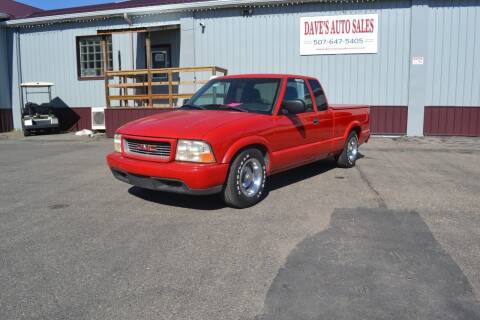 1999 GMC Sonoma for sale at Dave's Auto Sales in Winthrop MN