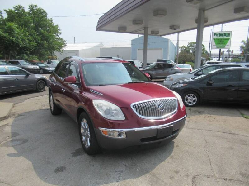 2010 Buick Enclave for sale at Perfection Auto Detailing & Wheels in Bloomington IL