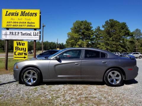 2012 Dodge Charger for sale at Lewis Motors LLC in Deridder LA