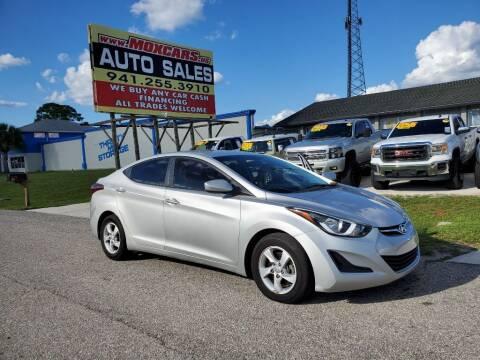 2015 Hyundai Elantra for sale at Mox Motors in Port Charlotte FL