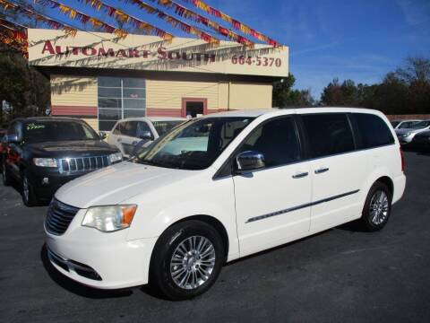 2013 Chrysler Town and Country for sale at Automart South in Alabaster AL
