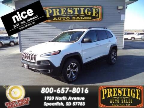 2015 Jeep Cherokee for sale at PRESTIGE AUTO SALES in Spearfish SD