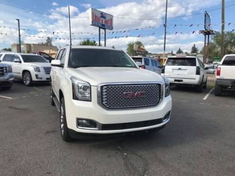 2015 GMC Yukon for sale at Lion's Auto INC in Denver CO