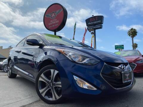 2013 Hyundai Elantra Coupe for sale at Auto Express in Chula Vista CA