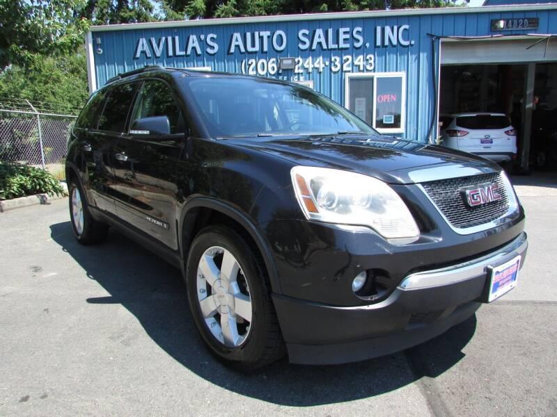 2008 GMC Acadia for sale at Avilas Auto Sales Inc in Burien WA