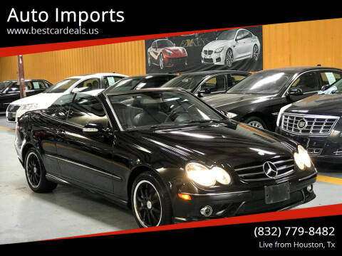 2007 Mercedes-Benz CLK for sale at Auto Imports in Houston TX