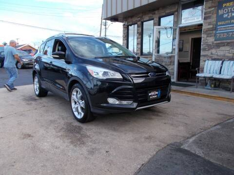 2014 Ford Escape for sale at Preferred Motor Cars of New Jersey in Keyport NJ