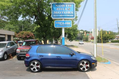 2011 Volkswagen GTI for sale at North Hills Motors in Raleigh NC