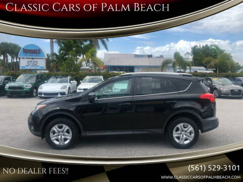 2013 Toyota RAV4 for sale at Classic Cars of Palm Beach in Jupiter FL