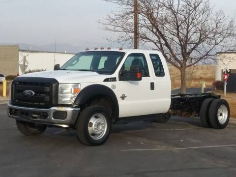 2011 Ford F-550 Super Duty for sale at AUTOMOTIVE SOLUTIONS in Salt Lake City UT