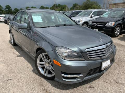 2012 Mercedes-Benz C-Class for sale at KAYALAR MOTORS in Houston TX