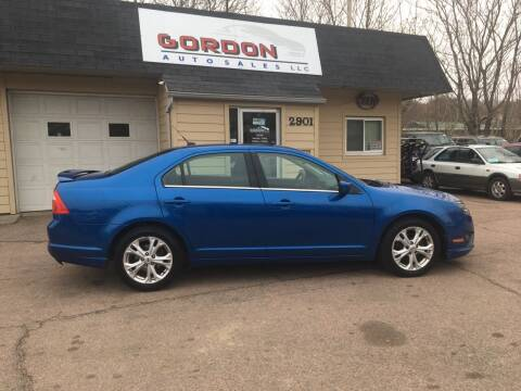 2012 Ford Fusion for sale at Gordon Auto Sales LLC in Sioux City IA
