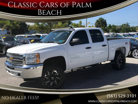 2013 Chevrolet Silverado 1500 for sale at Classic Cars of Palm Beach in Jupiter FL