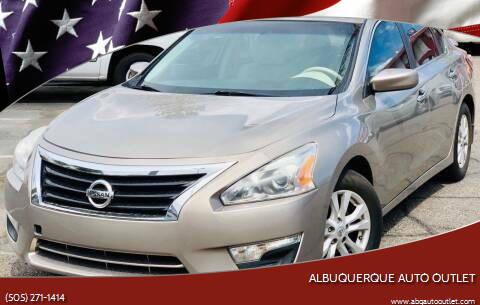 2014 Nissan Altima for sale at ALBUQUERQUE AUTO OUTLET in Albuquerque NM