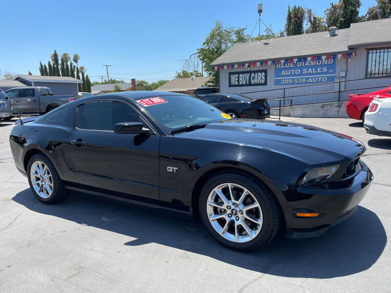 2010 Ford Mustang for sale at Blue Diamond Auto Sales in Ceres CA