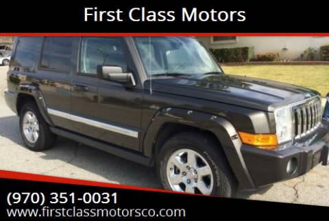 2006 Jeep Commander for sale at First Class Motors in Greeley CO