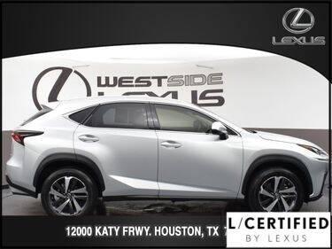 2019 Lexus NX 300 for sale at LEXUS in Houston TX