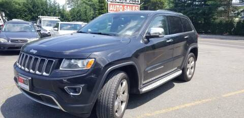 2014 Jeep Grand Cherokee for sale at Central Jersey Auto Trading in Jackson NJ