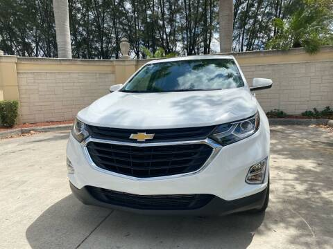 2018 Chevrolet Equinox for sale at Nation Autos Miami in Hialeah FL