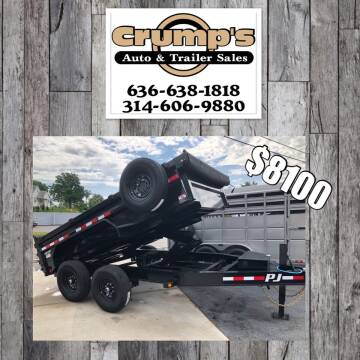 2021 Pj trailers Low Pro Dump for sale at CRUMP'S AUTO & TRAILER SALES in Crystal City MO