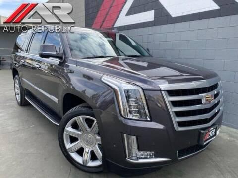 2017 Cadillac Escalade ESV for sale at Auto Republic Fullerton in Fullerton CA