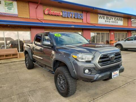 2018 Toyota Tacoma for sale at Ohana Motors - Lifted Vehicles in Lihue HI