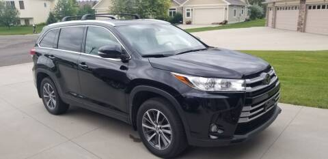2019 Toyota Highlander for sale at GOOD NEWS AUTO SALES in Fargo ND
