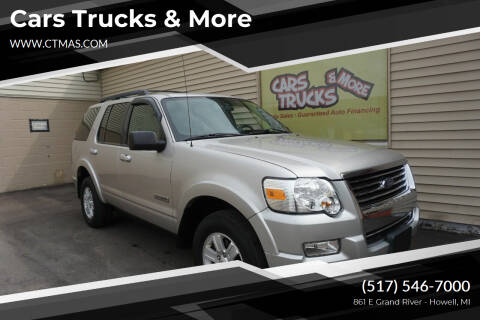 2008 Ford Explorer for sale at Cars Trucks & More in Howell MI
