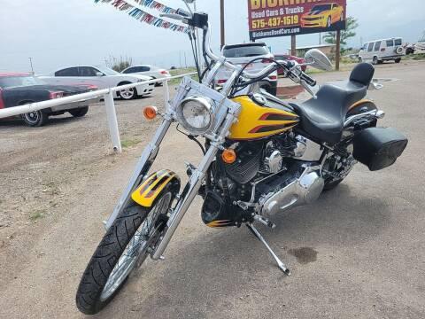 2000 Harley Davidson  FXSTD for sale at Bickham Used Cars in Alamogordo NM