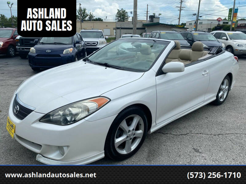2006 Toyota Camry Solara for sale at ASHLAND AUTO SALES in Columbia MO