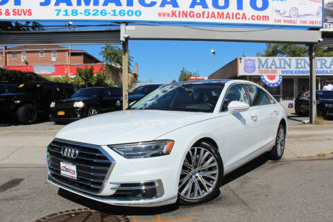 2019 Audi A8 L for sale at MIKEY AUTO INC in Hollis NY