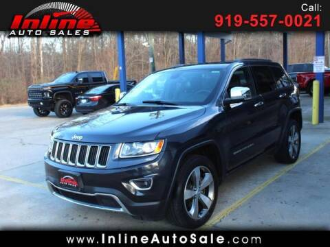 2016 Jeep Grand Cherokee for sale at Inline Auto Sales in Fuquay Varina NC
