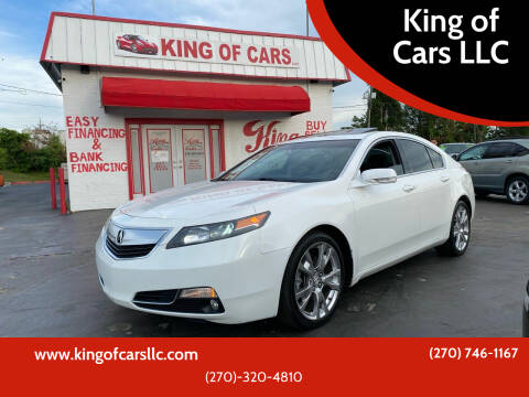 2012 Acura TL for sale at King of Cars LLC in Bowling Green KY