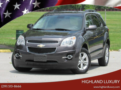 2013 Chevrolet Equinox for sale at Highland Luxury in Highland IN