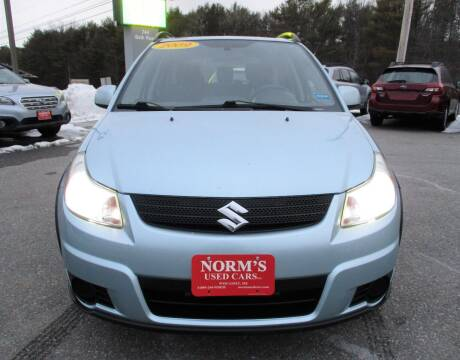 2009 Suzuki SX4 Crossover for sale at NORM'S USED CARS INC in Wiscasset ME