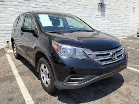 2013 Honda CR-V for sale at ADVANTAGE AUTO SALES INC in Bell CA